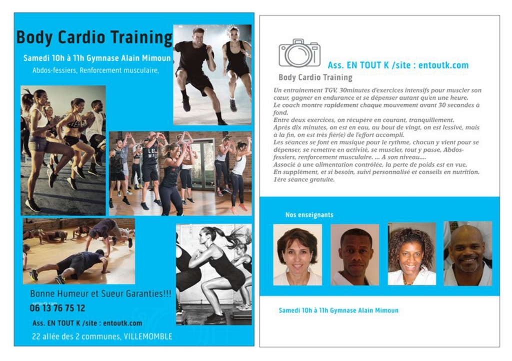 EN JANVIER, NEW : BODY CARDIO TRAINING